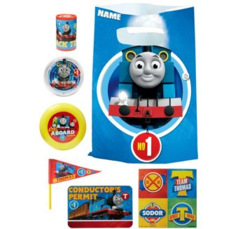 Thomas the Tank Engine Basic Favor Kit for 8 Guests