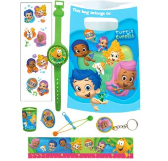 Bubble Guppies Basic Favor Kit for 8 Guests