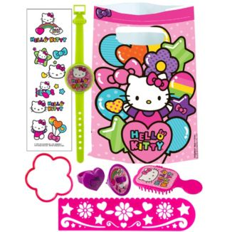 Hello Kitty Basic Favor Kit for 8 Guests