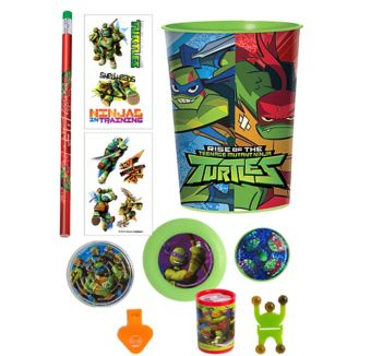 Teenage Mutant Ninja Turtles Super Favor Kit for 8 Guests