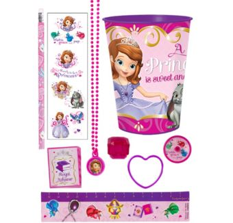 Sofia the First Super Favor Kit for 8 Guests