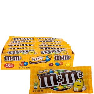 Milk Chocolate Peanut M&M's Pouches 48ct