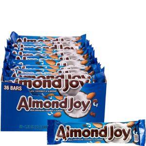 Milk Chocolate Almond Joy Bars 36ct