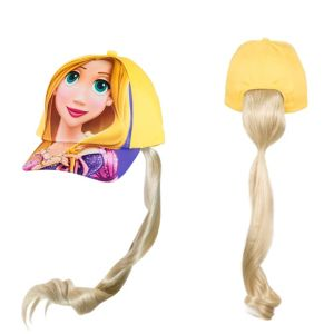 Child Rapunzel Baseball Hat with Braid - Tangled