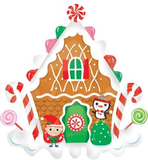 Giant Gingerbread House Balloon
