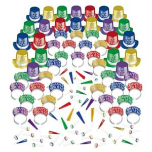 Kit For 200 - Colorful Opulent Affair New Year's Party Kit