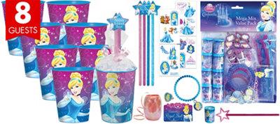Cinderella Super Favor Kit for 8 Guests