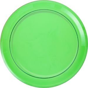 Kiwi Green Plastic Round Platter