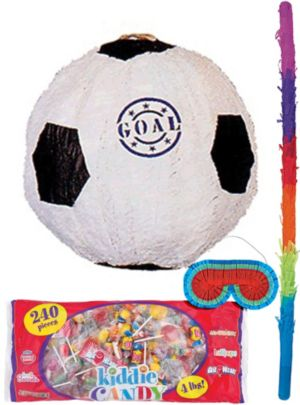 Goal Soccer Ball Pinata Kit