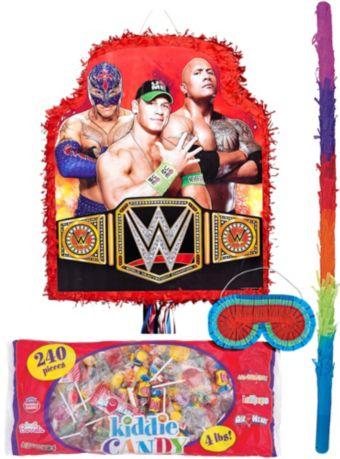 Red WWE Pinata Kit