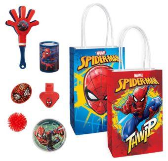 Spider-Man Basic Favor Kit for 8 Guests