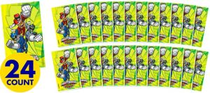 Jumbo Power Rangers Stickers 24ct