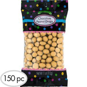Gold Peanut Chocolate Drops 150pc