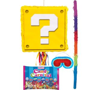 Question Block Pinata Kit - Super Mario