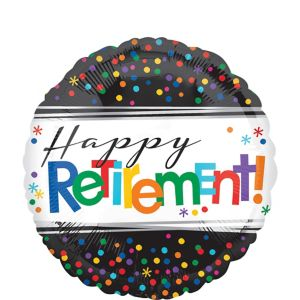 Happy Retirement Celebration Balloon