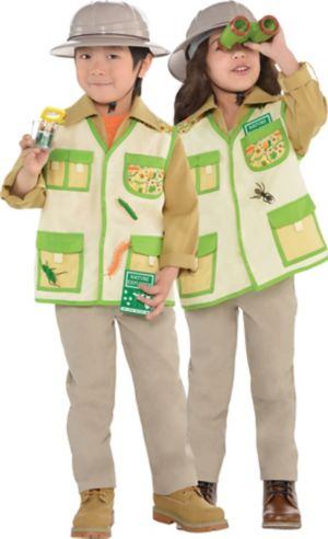 Child Explorer Costume