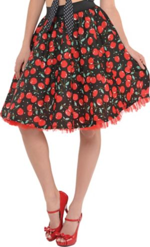 Cherry Rockabilly Skirt