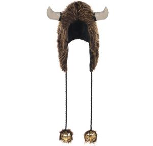 Furry Viking Hood