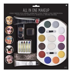 All-In-One Halloween Makeup Kit 18pc