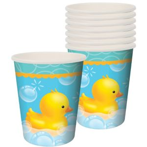 Bubble Bath Baby Shower Cups 8ct