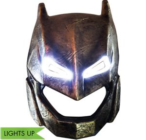Adult Light-Up Armored Batman Mask - Batman v Superman: Dawn of Justice