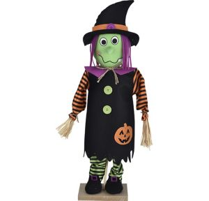 Friendly Standing Witch Decoration