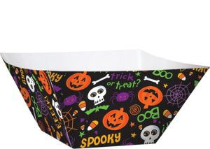 Halloween Paper Serving Bowls 3ct