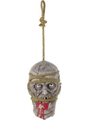Hanging Zombie Head