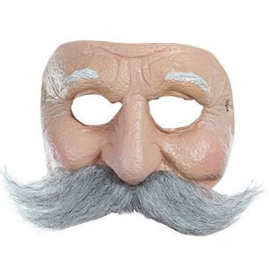 Mustached Old Man Mask