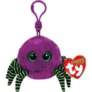 Clip-On Crawler Beanie Boo Spider Plush