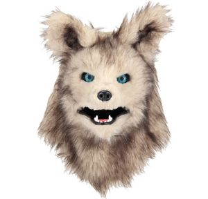 Child Akela Mask with Moving Mouth -The Jungle Book