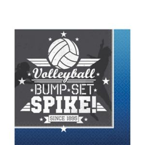 Volleyball Lunch Napkins 16ct