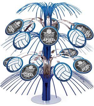Volleyball Cascade Centerpiece