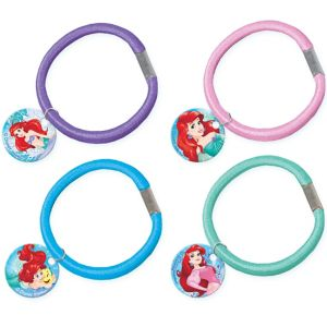 Little Mermaid Hair Ties 4ct