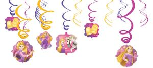Rapunzel Swirl Decorations 12ct