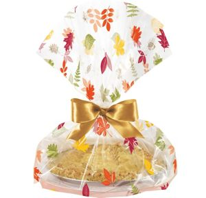 Fall Pie Treat Tray Bags 6ct