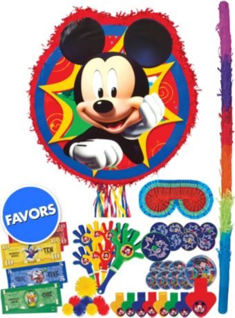 Mickey Mouse Pinata Kit with Favors