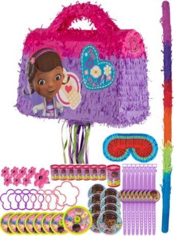 Doctor Bag Pinata Kit with Favors - Doc McStuffins