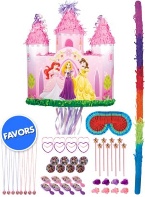Disney Princess Castle Pinata Kit with Favors