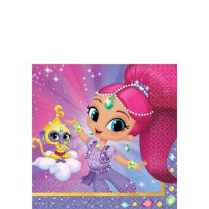 Shimmer and Shine Beverage Napkins 16ct