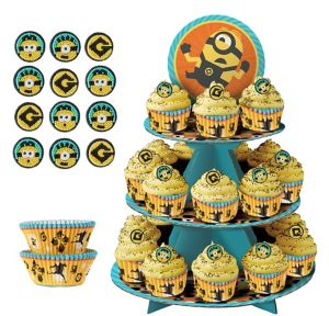 Deluxe Minion Cupcake Kit for 24