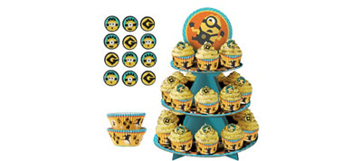 Minions Cupcake Kit for 24