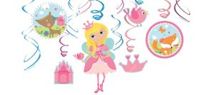 Woodland Fairy Swirl Decorations 12ct