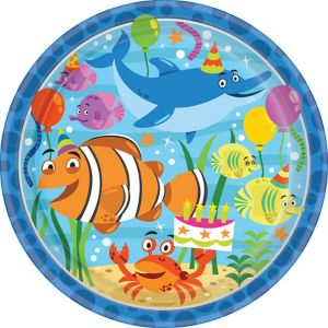 Under the Sea Birthday Lunch Plates 8ct