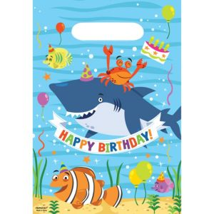 Under the Sea Birthday Favor Bags 8ct