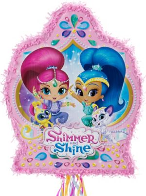 Pull String Shimmer and Shine Pinata