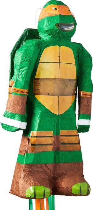 Pull String Michelangelo Pinata - Teenage Mutant Ninja Turtles
