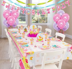 Woodland Princess Super Party Kit for 8 Guests
