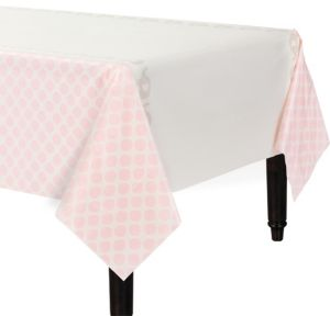 Pink Baby Elephant Table Cover