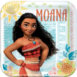 Moana Lunch Plates 8ct